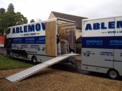 House Removals in Trowbridge